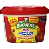 Chef Boyardee Mini-Bites Spaghetti Rings with Meatballs, 7.5-Ounce Microwavable Bowls (Pack of 12)