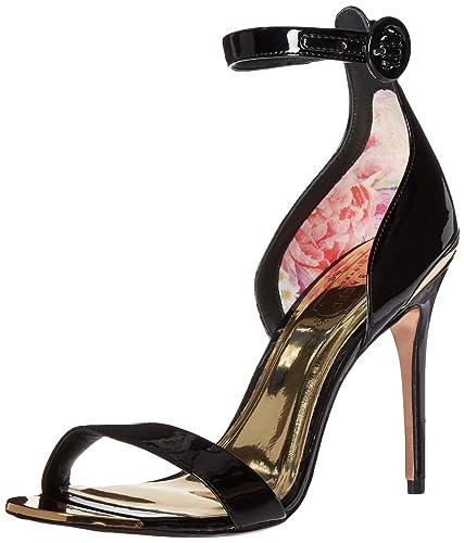 309dc370643b7 Amazon.com  Ted Baker Women s Rynne Dress Sandal Black 9 M US  Shoes