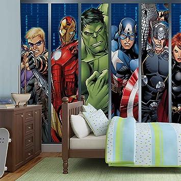 Papier Peint Photo Mural 964P4   Collection Marvel Avengers   XL