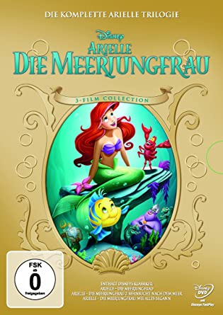 Arielle Die Meerjungfrau Trilogie 3 Dvds Amazonde John Musker
