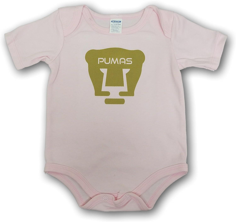 new pumas unam baby newborn  jump suit pink