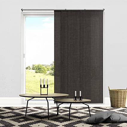 Merveilleux Chicology Adjustable Sliding Panels, Cut To Length Vertical Blinds,  Nautical Grey (Light Filtering