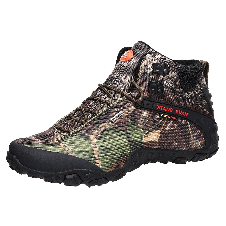 Herren Trekking Wanderstiefel Wasserdicht Rutschfeste Wanderschuhe Outdoor Stiefel Sneaker Boots Schwarz 43 gb2ADPvYd