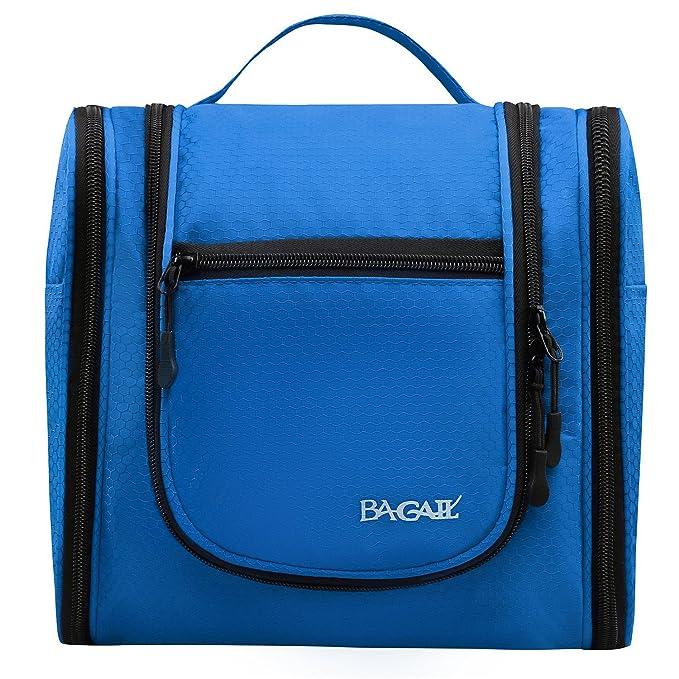 Amazon.com: Bagail bolsa grande para maquillaje, cosmé ...