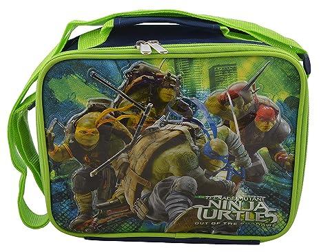 Teenage Mutant Ninja Turtles TMNT Deluxe 3D Design-Insulated Lunchbox Lunch Kit