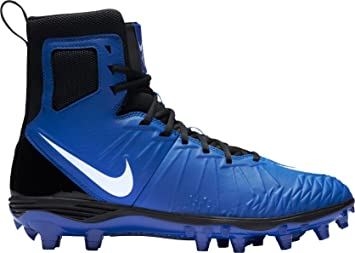 cheap for discount b8d59 95ea6 Nike Men s Force Savage Varsity Football Cleats (Blue White, 11.5 D(M