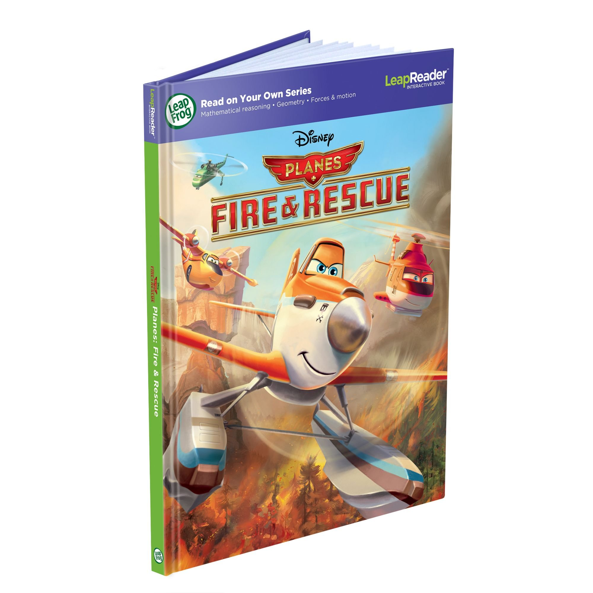 LeapFrog LeapReader Book: Disney Planes Fire and Rescue by LeapFrog