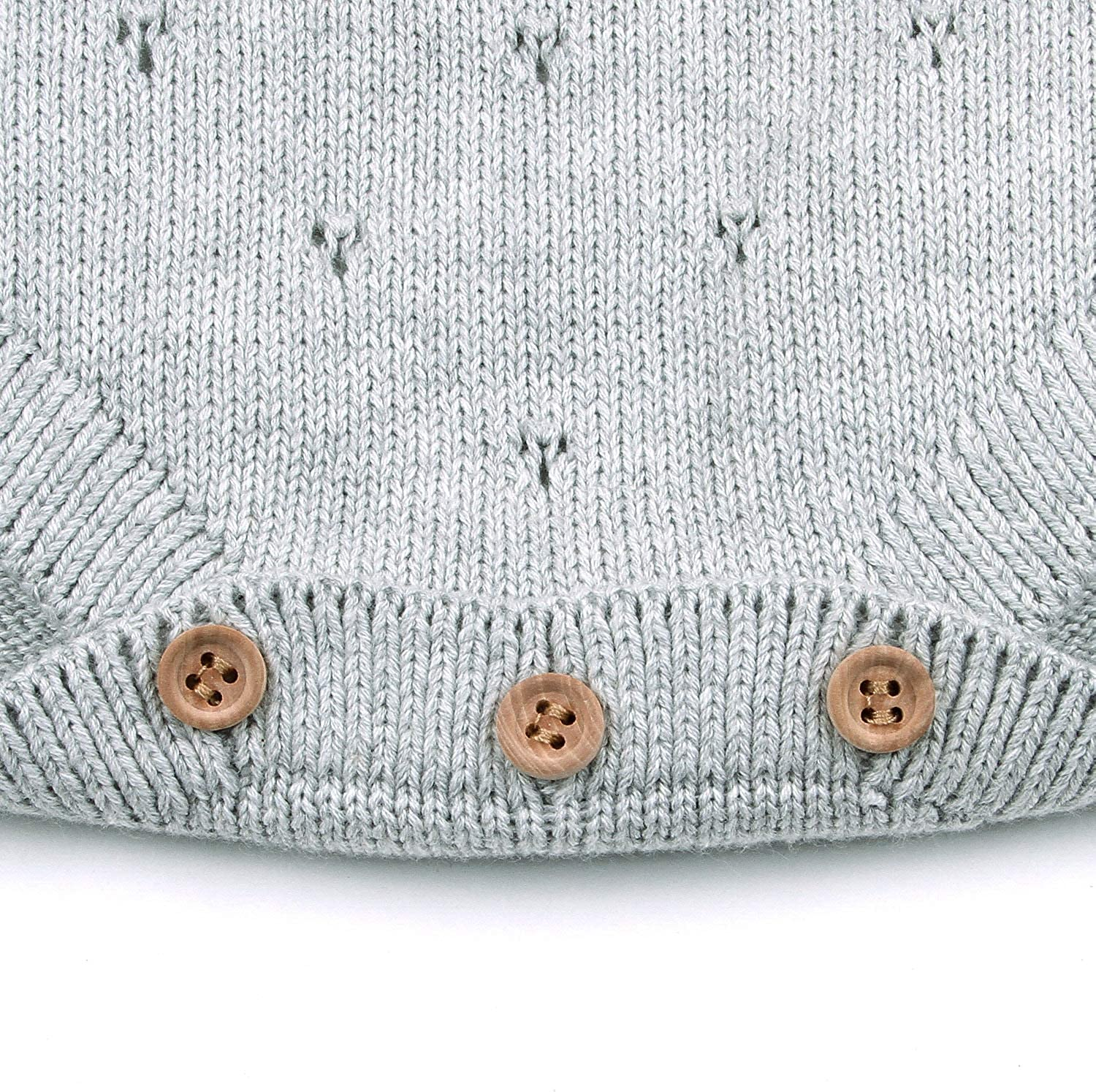 Simplee kids Newborn Baby Girls Knitted Sweater Romper Jumpsuit Fall Winter Clothes for Toddler 12M-3T.