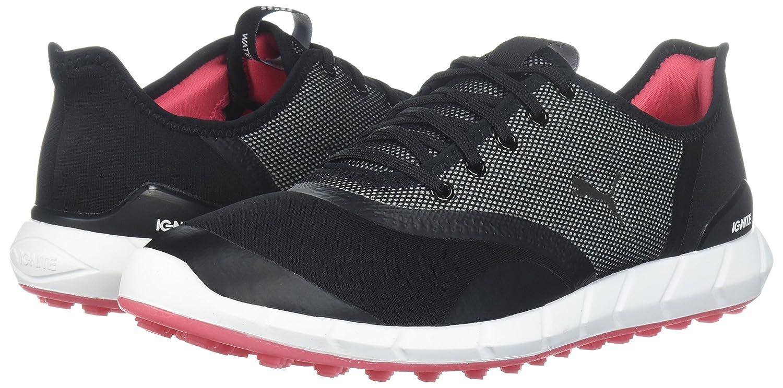 PUMA Women's Ignite Statement Low Golf Shoe B074ZT5HD9 6.5 B(M) US|Black/White