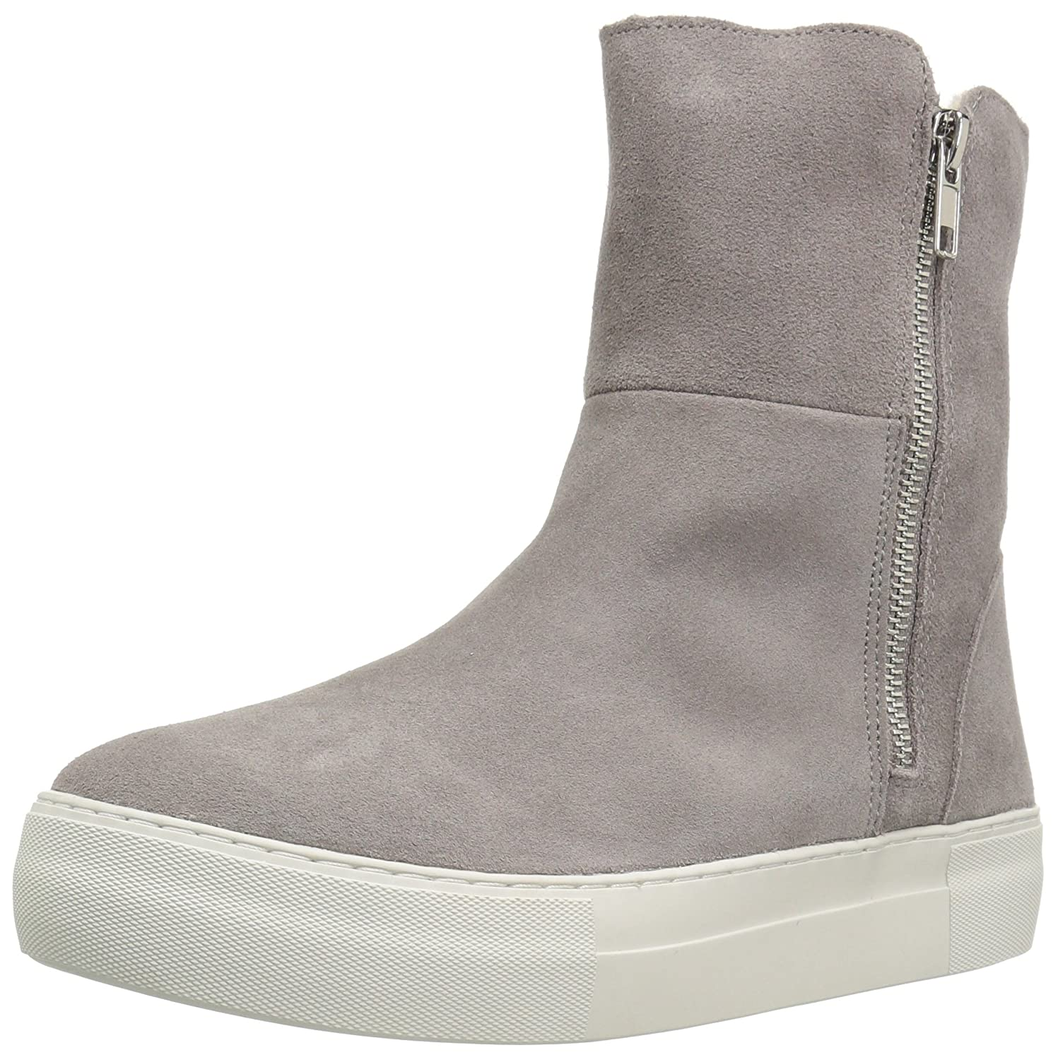 Steve Madden Women's Boost Snow Boot B01N44LACK 10 B(M) US|Grey Suede