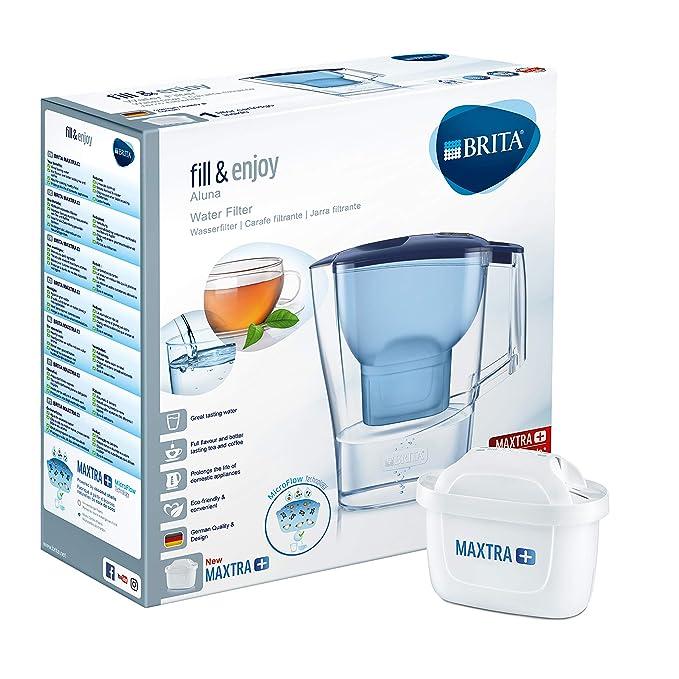 BRITA Aluna – Jarra de Agua Filtrada con 1 cartucho MAXTRA+ ...