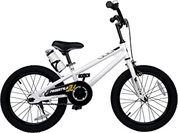 RoyalBaby Freestyle Kid's Bike for Boys and Girls, 12 14 16 inches with Training Wheels