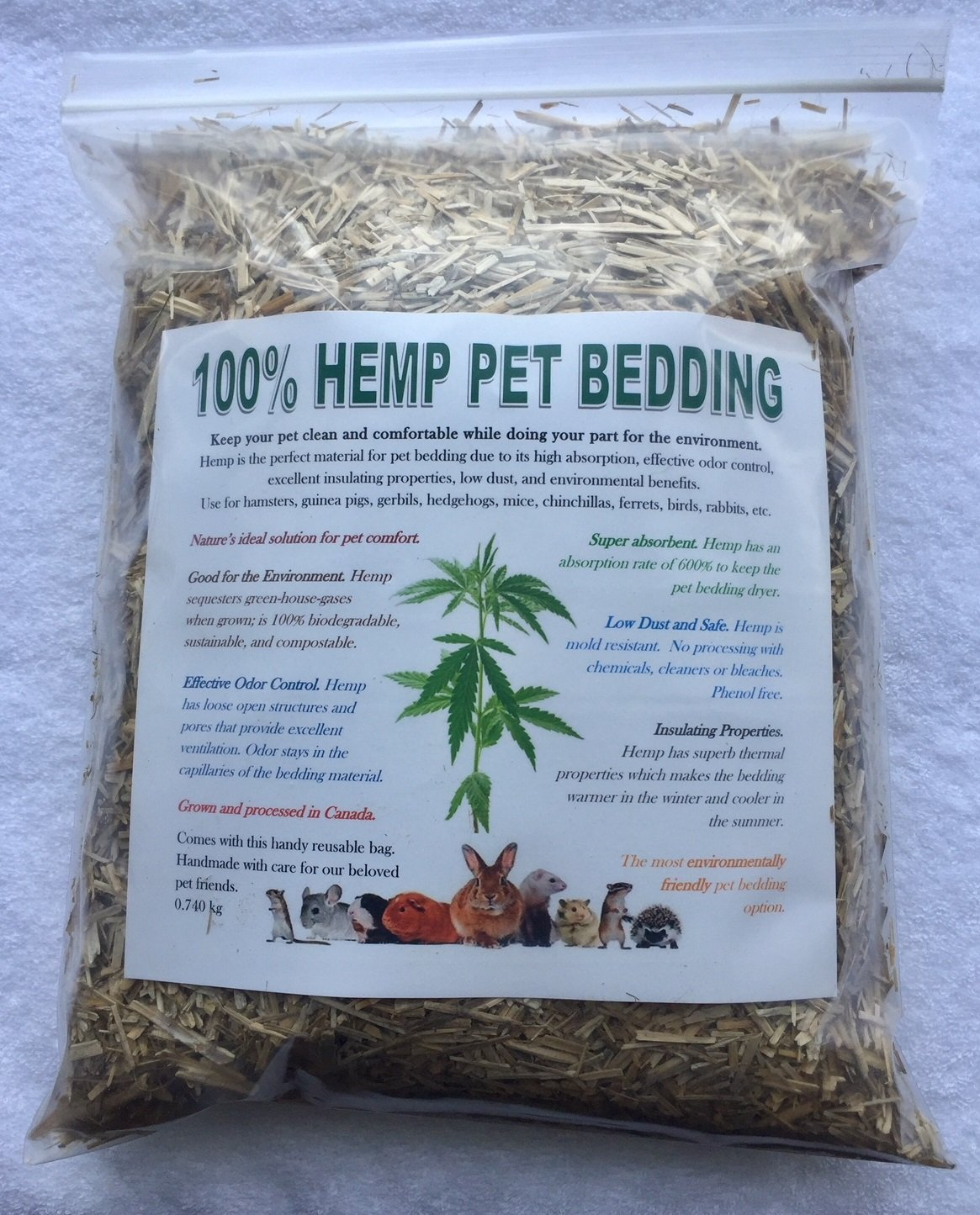 100% Hemp Pet Bedding Renew BioTech Inc.
