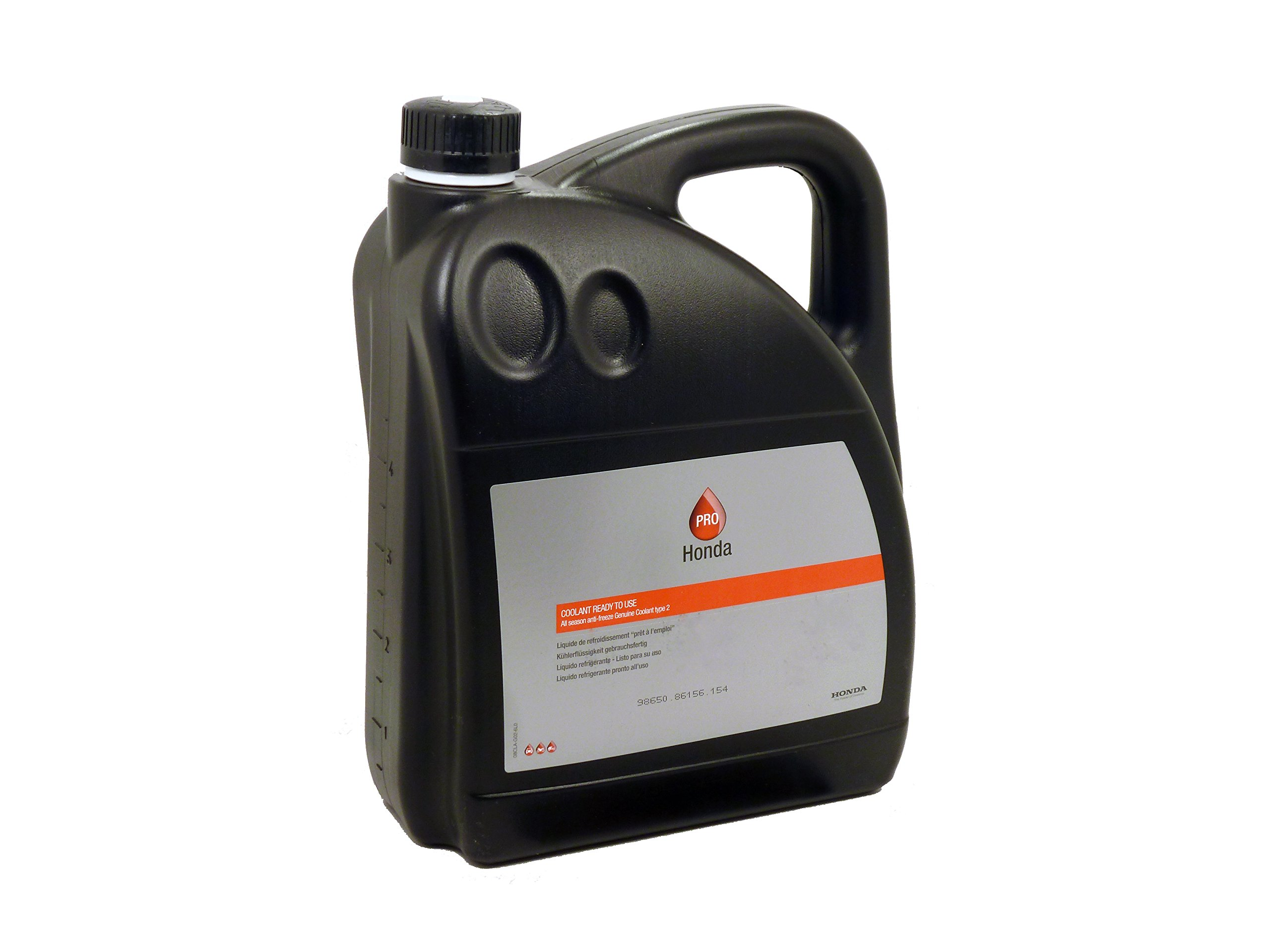 Honda Genuine Type 2 Coolant 5 Litre (Pre Mixed)-Suitable for all engines