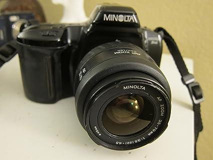amazon com minolta maxxum 3xi slr 35mm with af power zoom 28 80mm rh amazon com Minolta AF 70-210Mm F 4 Lens Minolta AF 70-210Mm F 4 Lens