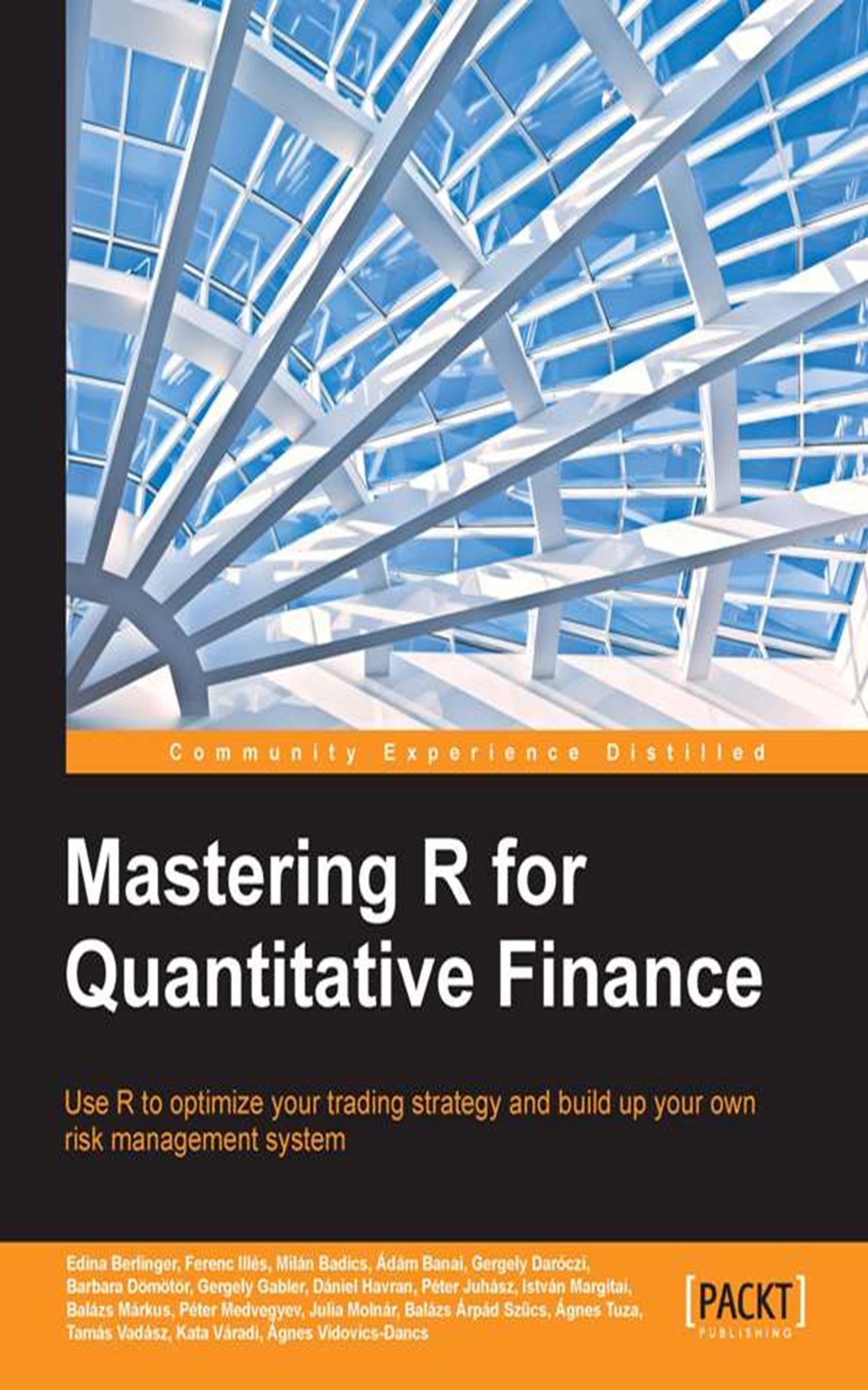 Mastering R For Quantitative Finance  English Edition