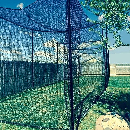Gourock 12 High X 12 Wide X 55 Long Batting Cage Net