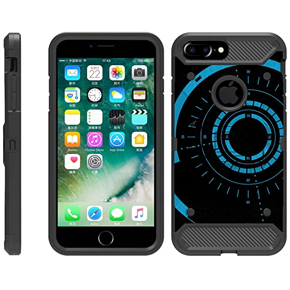 new arrival 32079 1a55d TurtleArmor | Compatible for Apple iPhone 6 Plus Case | iPhone 6s Plus Case  [Armor Pro] Full Body Coverage Armor Holster Belt Clip Kickstand Rugged ...
