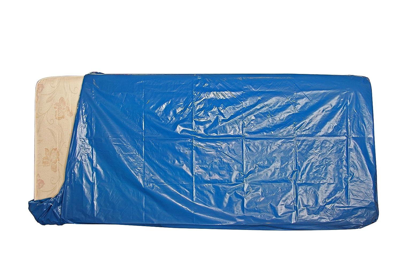 1 Sacco per materasso 1 piazza x trasloco/conservare Mis. cm 145 x 235 azzurro. Coprente 100 % Simba Paper Design srl