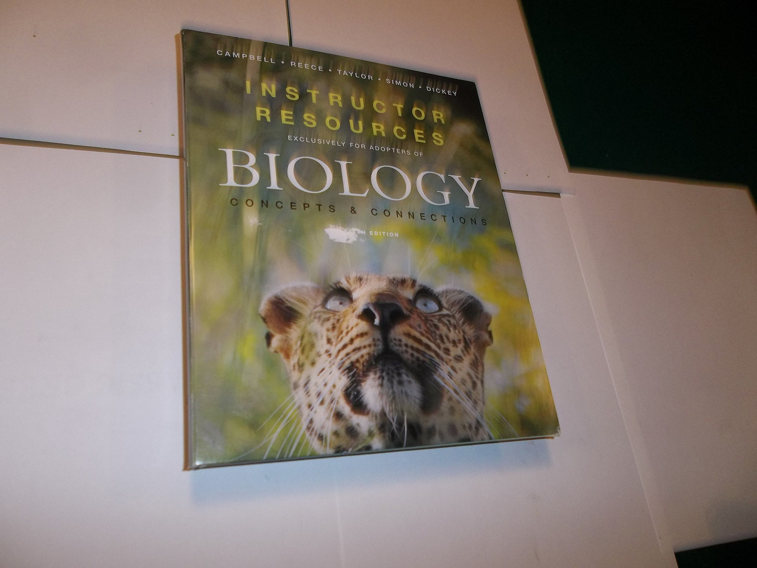 Biology Concepts and Connections Instructor Resources ebook