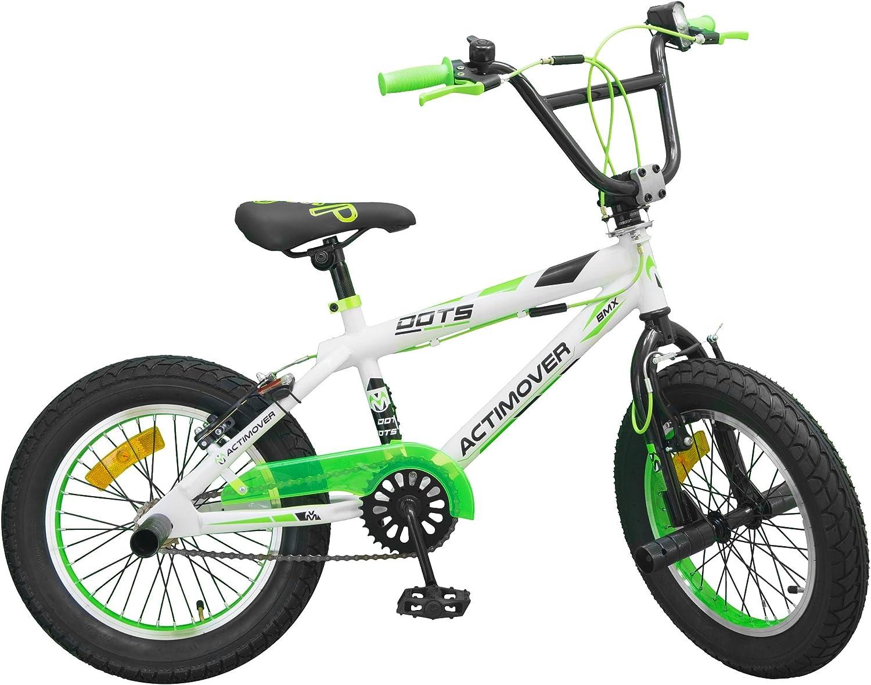 16 Pulgadas BMX freestyle bike actimover bicicleta blanco/de neón ...