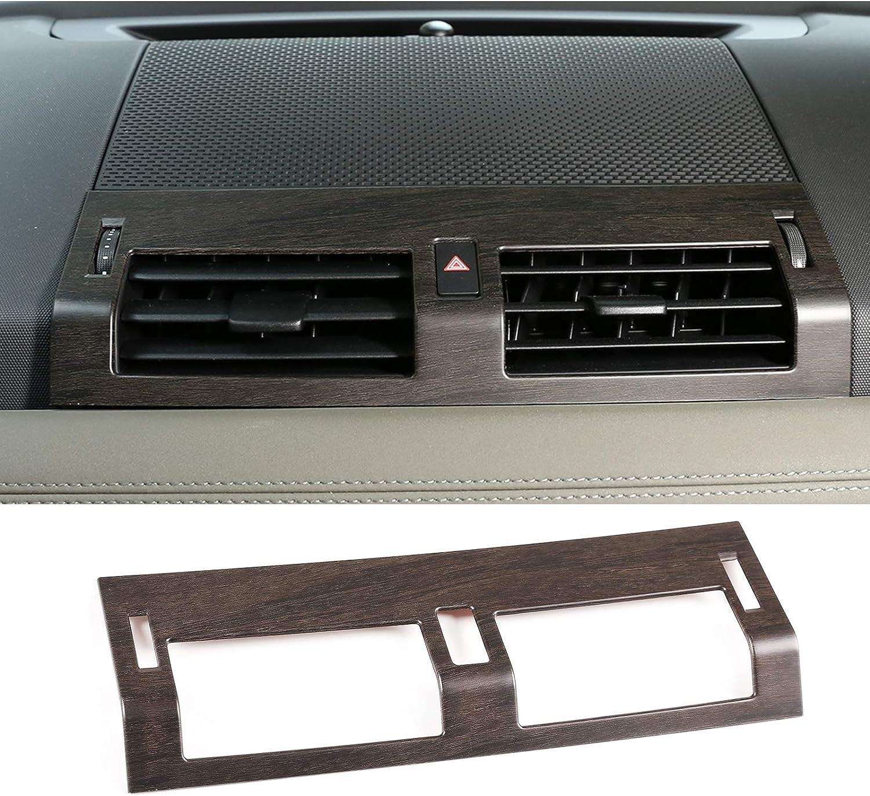 Car Dashboard Air Vent Outlet Frame Panel Cover Trim For Land Rover Defender 2020 110 Accessories (Oak grain)