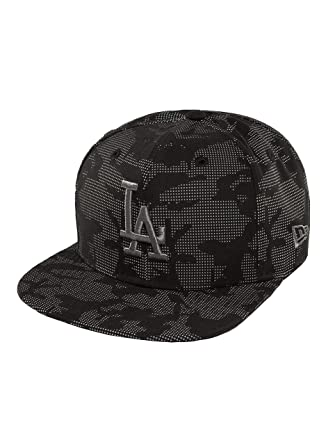 70745a9cea33fe New Era 9Fifty Night Time Reflective MLB Los Angeles Dodgers Cap Grey-Black  S-M: Amazon.co.uk: Clothing