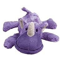 KONG Cozie Rosie the Rhino, Medium Dog Toy, Purple