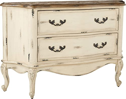 Stein World Furniture Dorset Bombe Chest, Paint Splattered