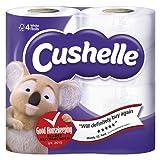 Cushelle White Rolls, 4 rolls
