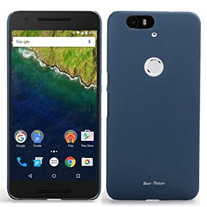 Amazon.com: Para Google Nexus 6P – Bear Motion Back Cover ...