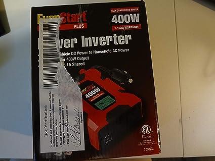 EverStart 70002M 400W Power Inverter