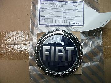 Original Fiat Grande Punto/Idea y Doblo Emblema Modelo caracteres portón - 735366069: Amazon.es: Coche y moto
