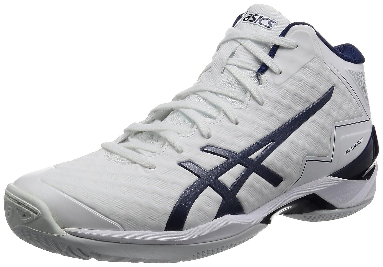 [アシックス] バスケットシューズ GELBURST 21 (旧モデル) B01NBD0671 26.5 cm ホワイト/インディゴブルー