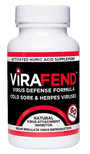 ViraFend + L-Lysine, Best Cold Sores Herpes Virus Defense Supplement,  Proactive Alternative to