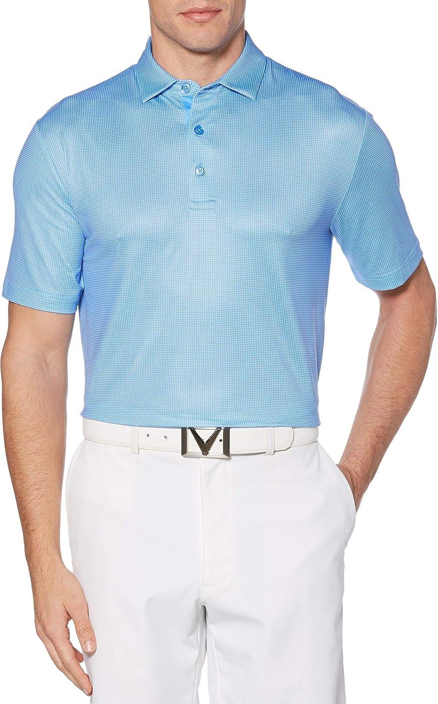 [キャラウェイ] メンズ シャツ Callaway Men's Refined Jacquard Golf Pol [並行輸入品] XXL  B07PB1S29G