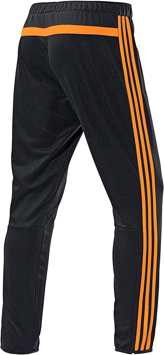 adidas Performance – Pantalones de chándal, Hombre, Negro/Naranja ...