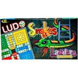 Ludo Snakes And Ladders Junior Classic Family Party Fun Travel Board Game For Kids, Children By Kids Mandi