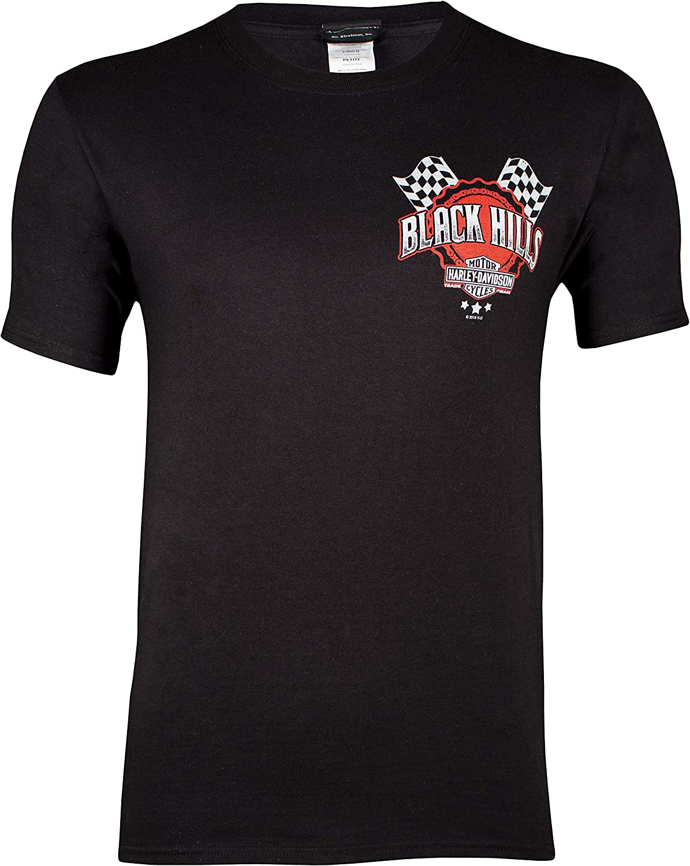 Black Hills Harley-Davidson Men/'s Patriot Black Long Sleeve T-Shirt