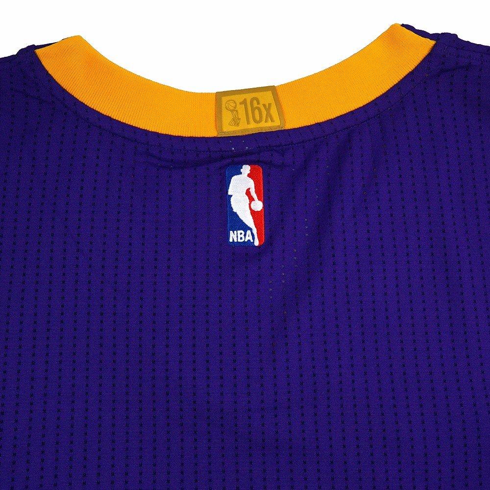 Adidas Los Angeles Lakers NBA Morado NBA auténtico Equipo de Pista de Corte Pro Jersey Jersey para Hombre, Púrpura: Amazon.es: Deportes y aire libre