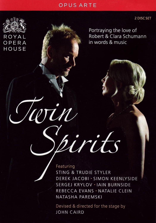 Amazon com: Twin Spirits: Sting performs Schumann: Sting