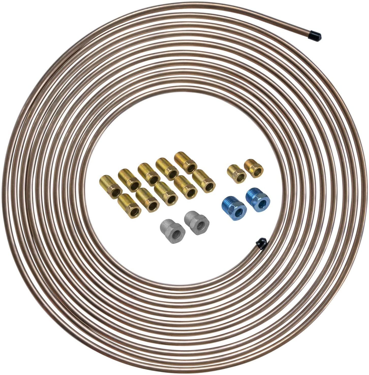 "1//4/"" O.D 20/"" long Steel Brake lines 6//tube"