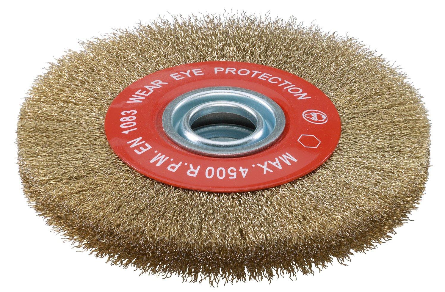 Brosse circulaire pour tourets Dimension 150x20 avec bague de ré duction d alé sage SIDAMO