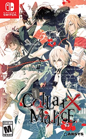 Amazon.com: Collar X Malice - Nintendo Switch: Aksys Games: Video ...