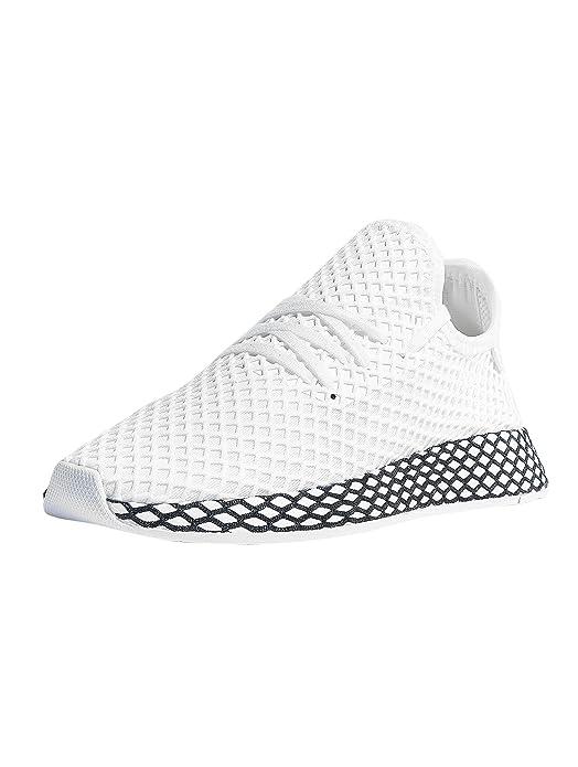 adidas Jungen Deerupt Runner Junior Sneaker Weiss: Amazon.de: Schuhe ...