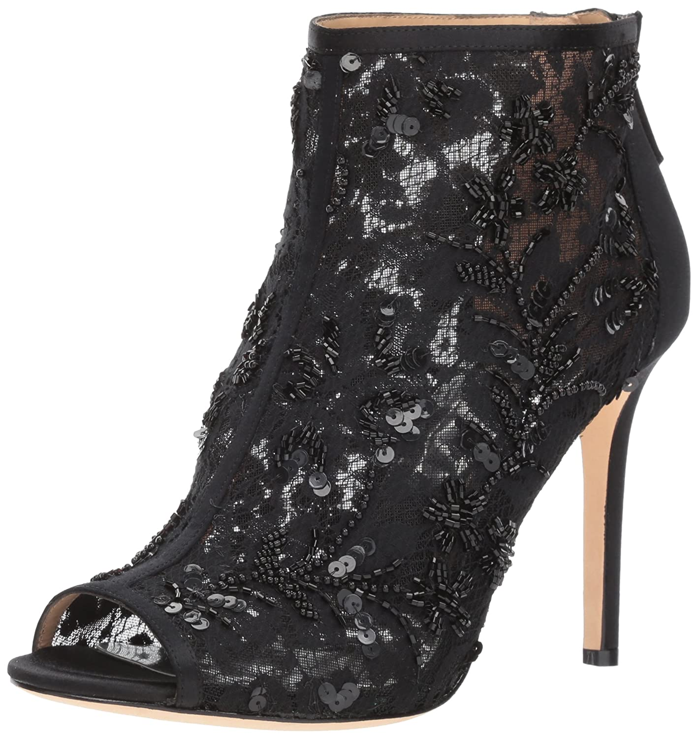 Badgley Mischka Women's Moyra Ankle Boot B073C3XXJP 8 B(M) US|Black