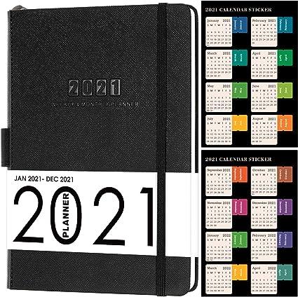 Agenda 2021, Agenda Académica A5 Semanal para ver la agenda de enero de 2021 a diciembre