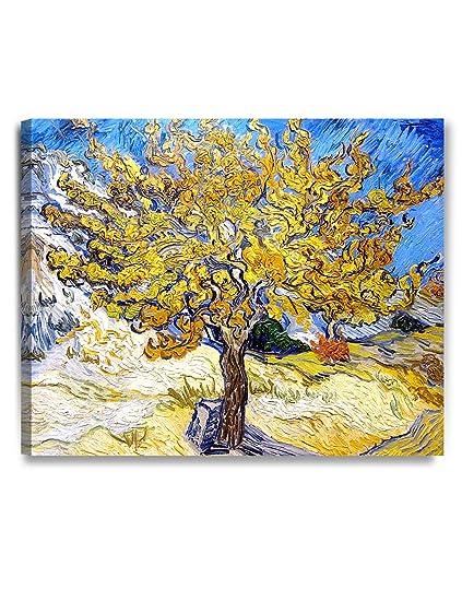 Amazon.com: DECORARTS The Mulberry Tree, Vincent Van Gogh Art ...