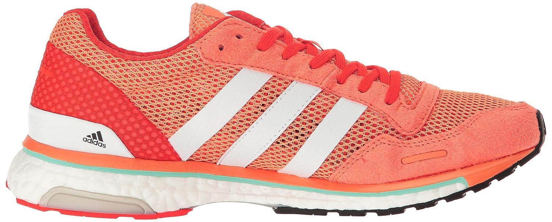 adidas Women's Adizero Adios W Running Shoe B01MF6WQ64 6.5 B(M) US|Easy Orange White/Energy S