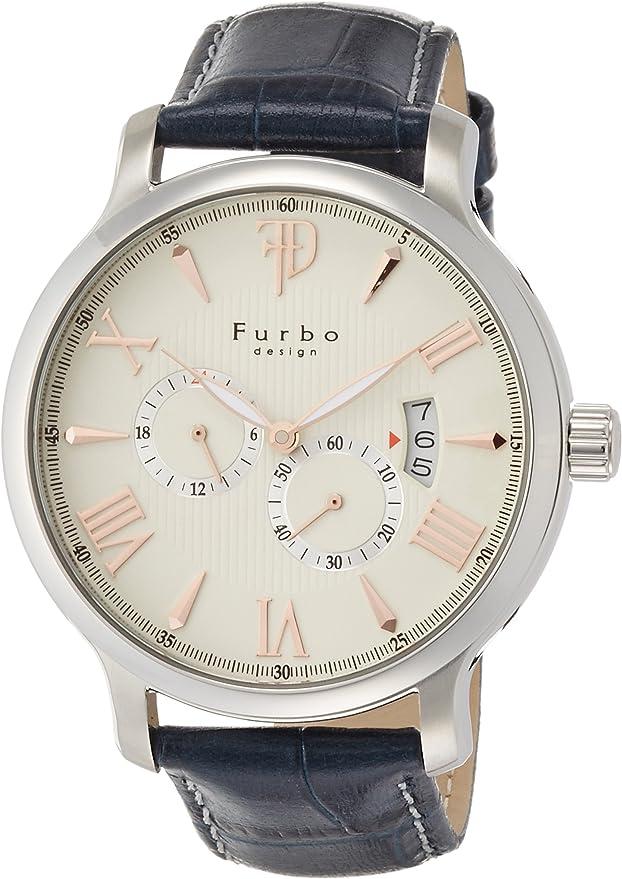 [フルボデザイン] 腕時計 F5028SSIBL メンズ ブルー